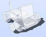 A model created in Sketchup