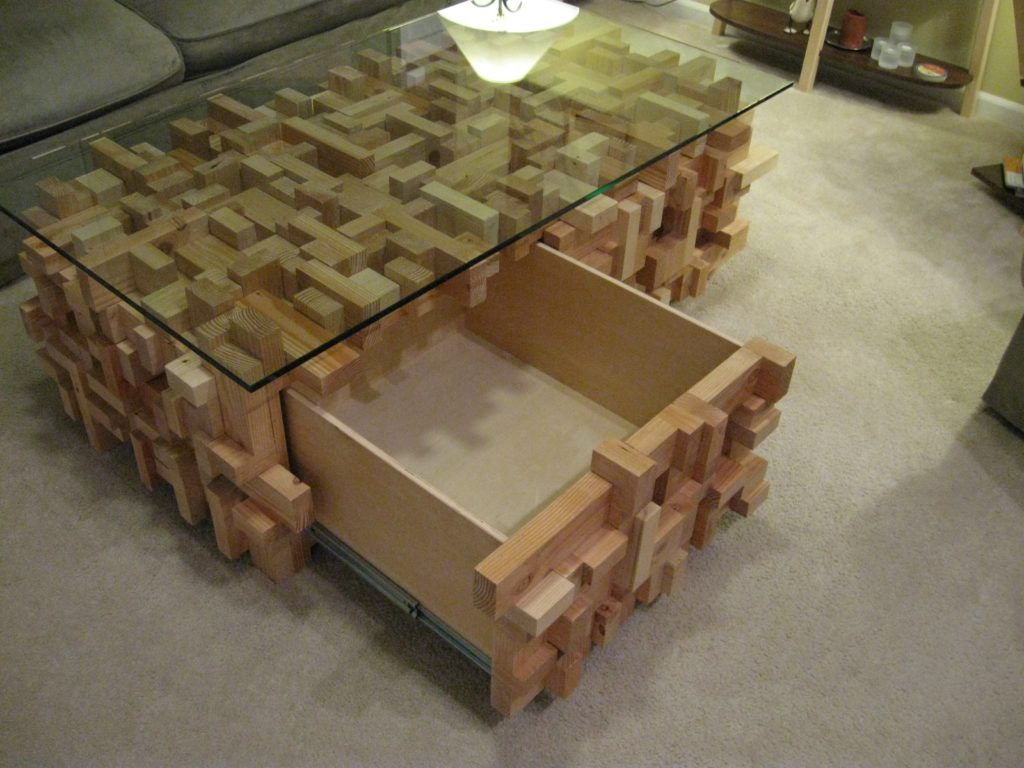 Remarkable 2X4 Coffee Table The Creative Engineer Download Free Architecture Designs Rallybritishbridgeorg